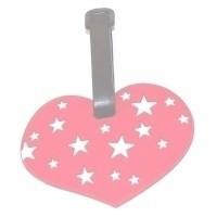 Бирка для чемодана сердце