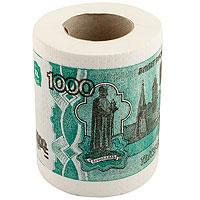Туалетная бумага 1000 руб мини