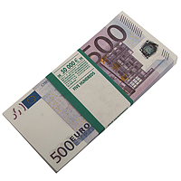 Забавная Пачка 500 евро Эврика