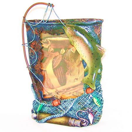 подарочная рамка набор рыбака