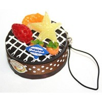Брелок Пироженое мини торт (*)