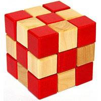 Открыть инструкцию Головоломка деревянная в картонной коробке К2