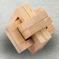 Открыть инструкцию Головоломка деревянная в коробке Каппа от Эврика