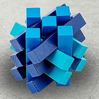 Открыть инструкцию Головоломка деревянная в коробке Сигма от Эврика