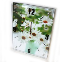 Часы на батарейках Ромашка 38x28 см