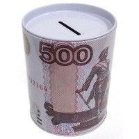 Копилка банка 500 руб