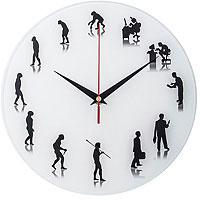 Часы Античасы Эволюция Стеклянные