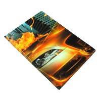 Обложка на паспорт N134 огонь машина