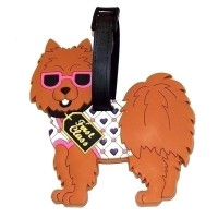 Бирка для чемодана Собачка
