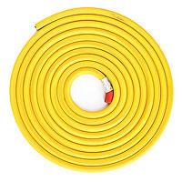 Карандаш гибкий 2,5 м Желтый Эврика