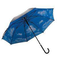 Зонт Небо с облаками трость