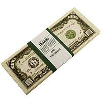 Забавная Пачка 1000 долларов Эврика