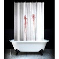Занавеска в душ Кровавая180180cm Эврика