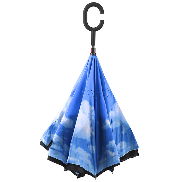 Зонт наоборот Небо Эврика