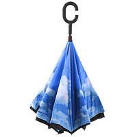 Зонт наоборот Неваляшка Небо Эврика