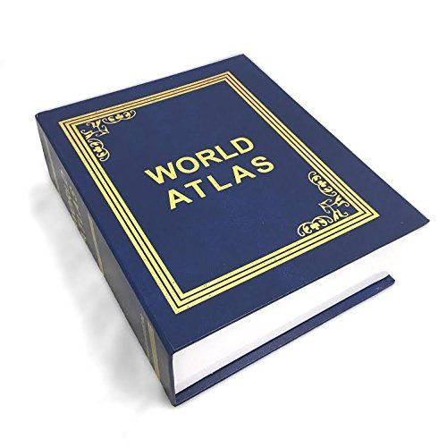 Книга сейф Атлас Мира 2116 Эврика