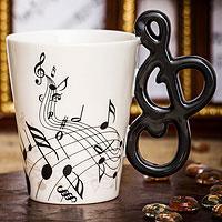 Кружка Музыкальные инструменты Ключ